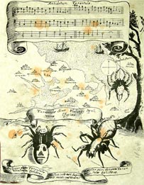 Tarantella music sheet