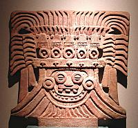 The Great Goddesss of Teotihuacan.  An anthropomorphic Spider Woman, Mexico